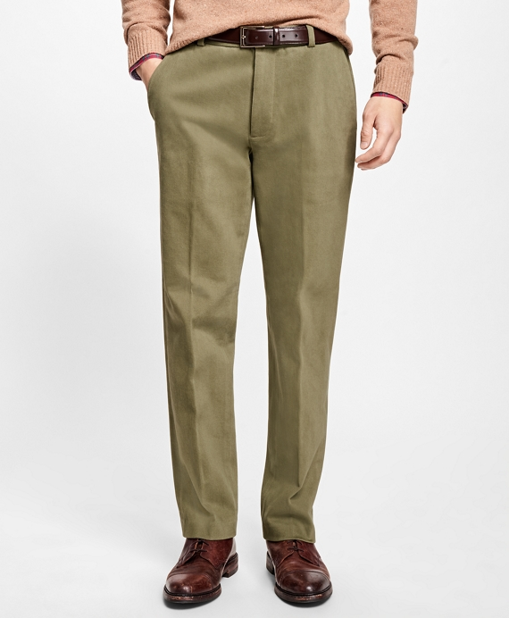 Clark Fit Brushed Twill Stretch Chinos