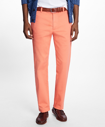 Milano Fit Garment-Dyed Pique Chinos