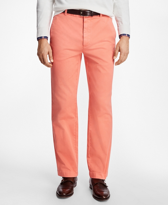 Clark Fit Garment-Dyed Pique Chinos