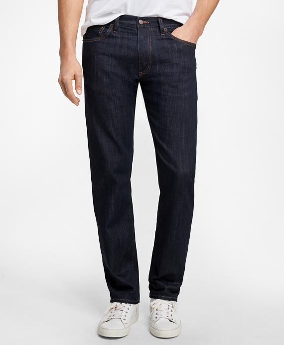 Supima® Stretch Denim Straight Fit Jeans