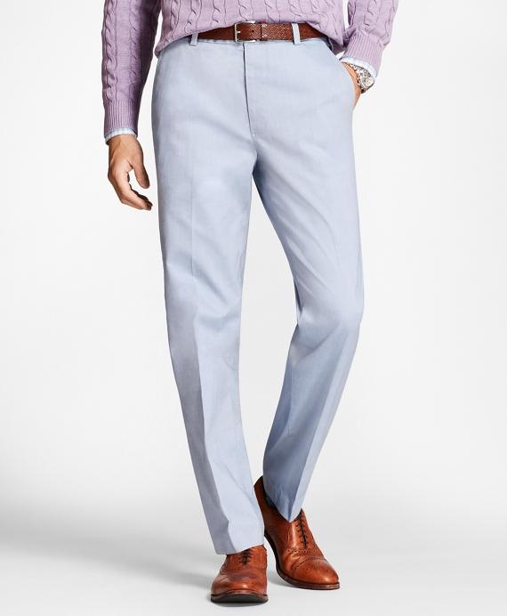 Non-Iron Clark Fit Supima® Cotton Oxford Chinos Blue
