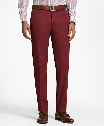 Milano Fit Piece-Dyed Supima® Cotton Stretch Chinos