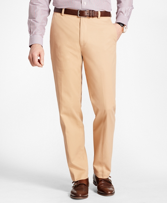 Clark Fit Piece-Dyed Supima® Cotton Stretch Chinos