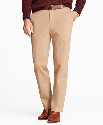 Clark Fit Brushed Twill with Stretch Chinos