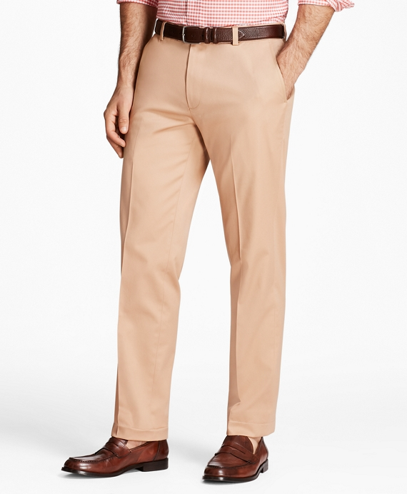 Milano Fit Lightweight Stretch Advantage Chinos® Dark Khaki