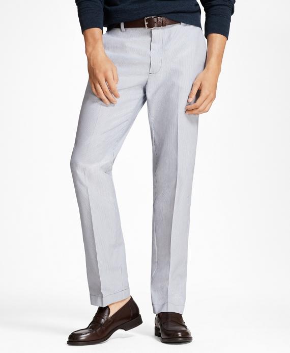 Clark Fit Stripe Stretch Advantage Chinos® Navy