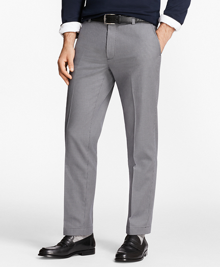 Milano Fit Houndstooth Stretch Advantage Chinos®