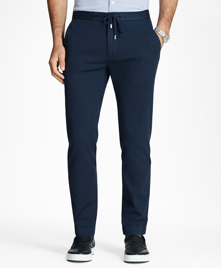Garment-Dyed Drawstring Pants