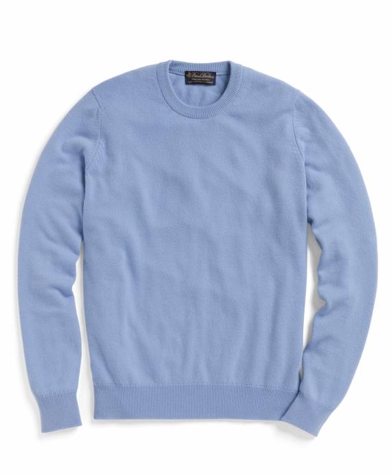 Cashmere Crewneck Sweater Light Blue