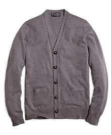 Cashmere Button Cardigan