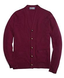Cashmere Button Cardigan
