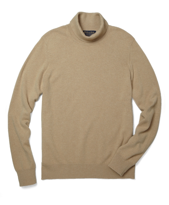 Cashmere Turtleneck Sweater Sand