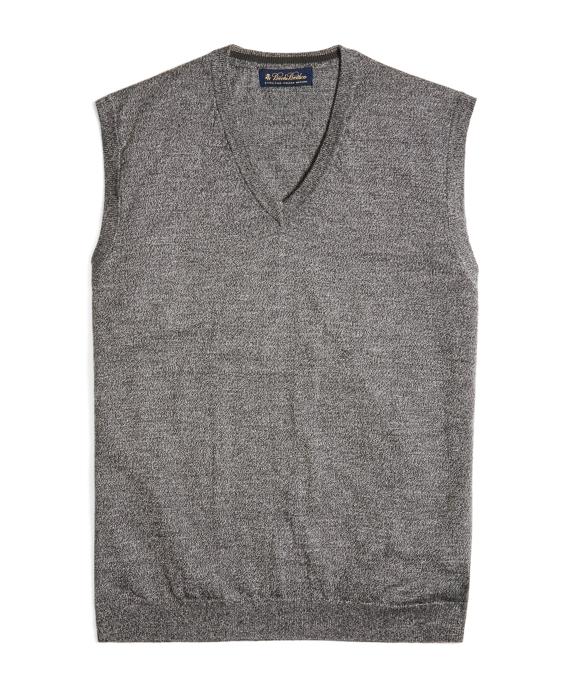 Merino Vest Grey
