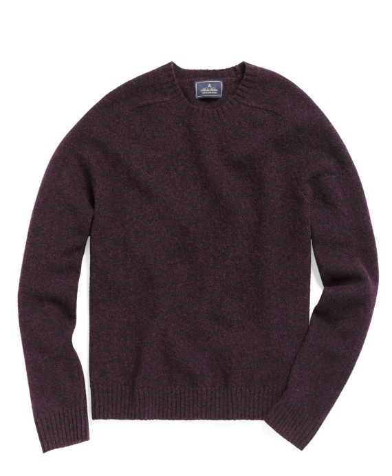 Purple-Burgundy Heather