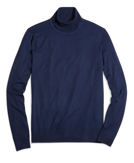 Men's Country Club Lightweight Turtleneck Sweater | Brooks Brothers
