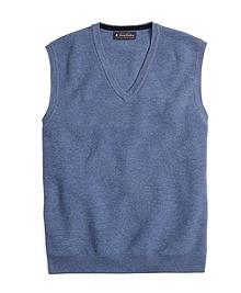 Merino Wool Parquet Vest