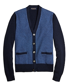 Supima® Cotton Textured Cardigan