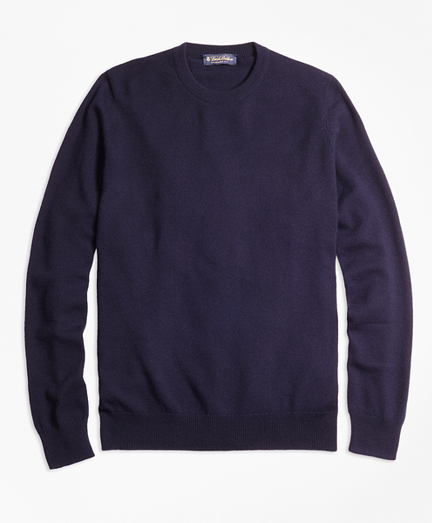 Cashmere Crewneck Sweater-Basic Colors