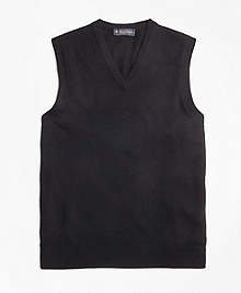 Cashmere Sweater Vest-Basic Colors