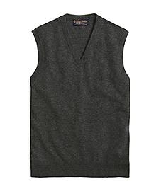 Cashmere Sweater Vest-Basic Colors