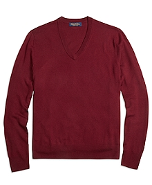 Saxxon Wool V-Neck Sweater
