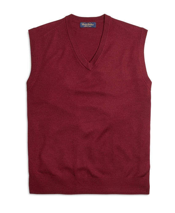 Saxxon™ Wool Sweater Vest