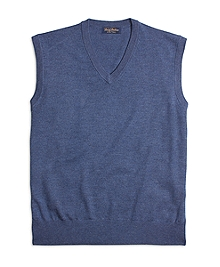 Saxxon Wool Sweater Vest