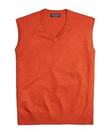 Saxxon Wool Sweater Vest