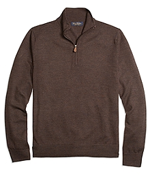 Saxxon Wool Half-Zip Sweater