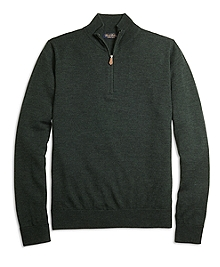 Saxxon Wool Half-Zip Sweater
