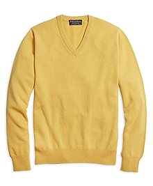Cashmere V-Neck Sweater