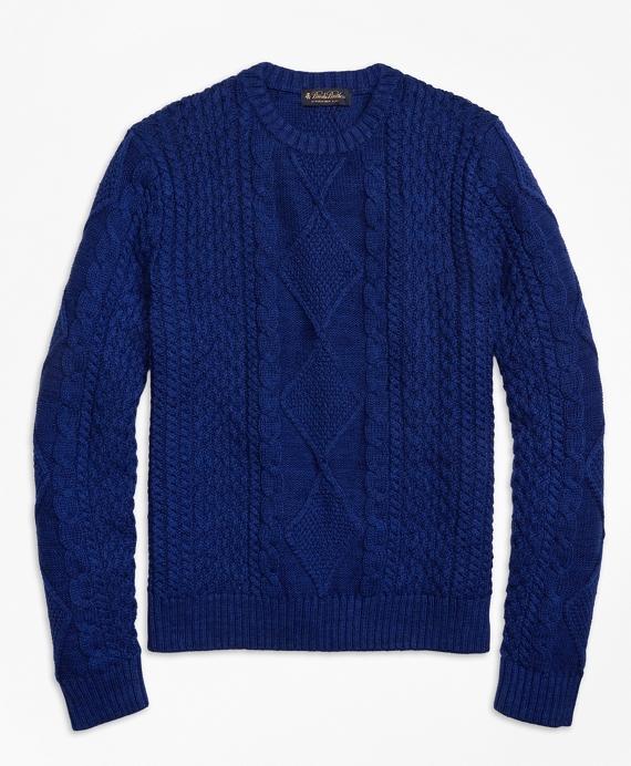 Cable Knit Crewneck
