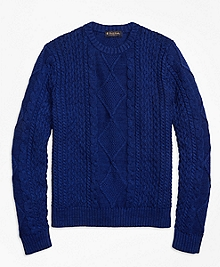 Cable Knit Crewneck