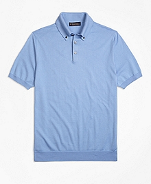 Featherweight Short-Sleeve Raglan Polo