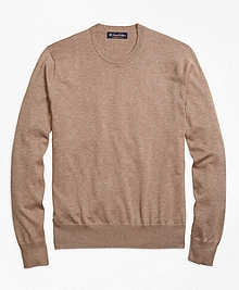 Supima® Cotton Crewneck Sweater