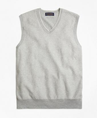 Supima® Cotton Twill Stitch Vest