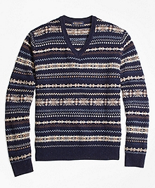 Heritage Fair Isle Crewneck Sweater