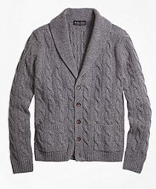 Heritage Cable Knit Cardigan