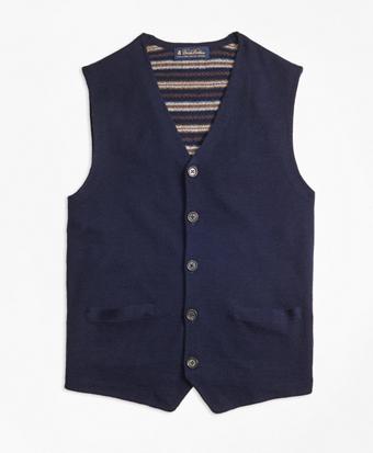 Merino Wool Waistcoat Vest