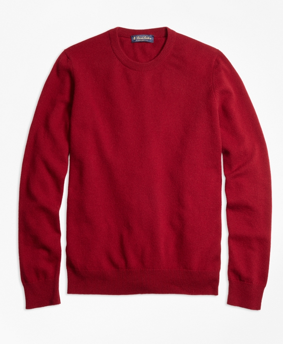 Cashmere Crewneck Sweater Burgundy