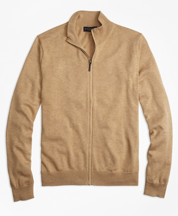 Supima® Cotton Full-Zip Cardigan