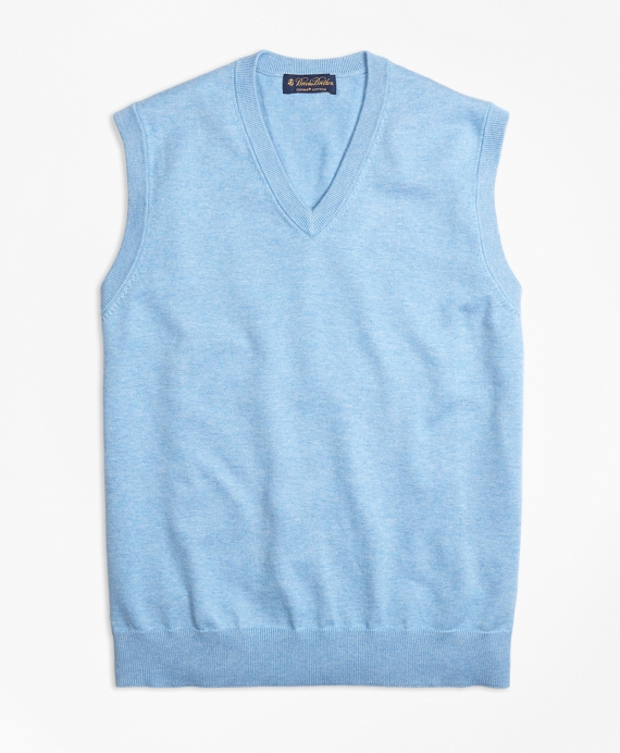 Supima® Cotton V-Neck Vest