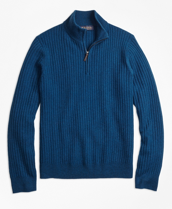 Ribbed Half-Zip
