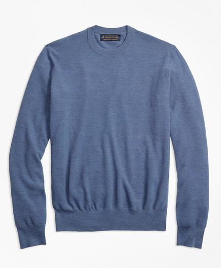 BrooksTech™ Merino Wool Textured Crewneck Sweater