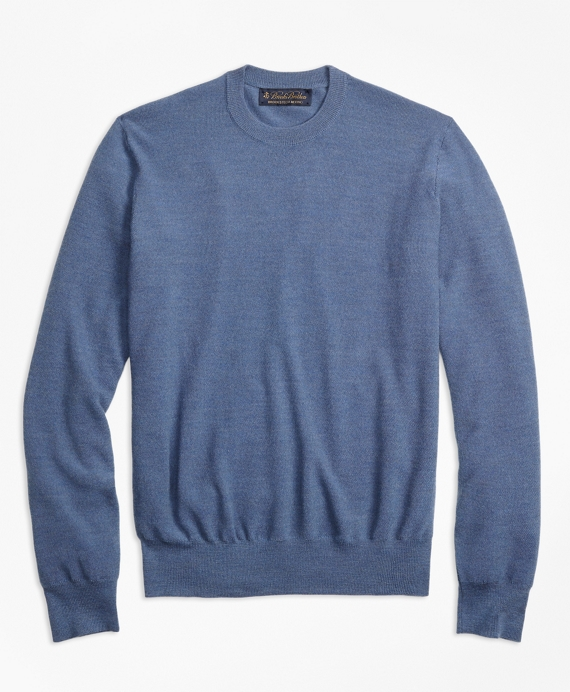 BrooksTech™ Merino Wool Textured Crewneck Sweater