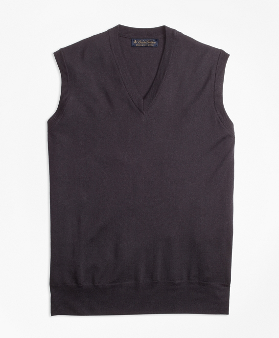 BrooksTech™ Merino Wool Vest Black