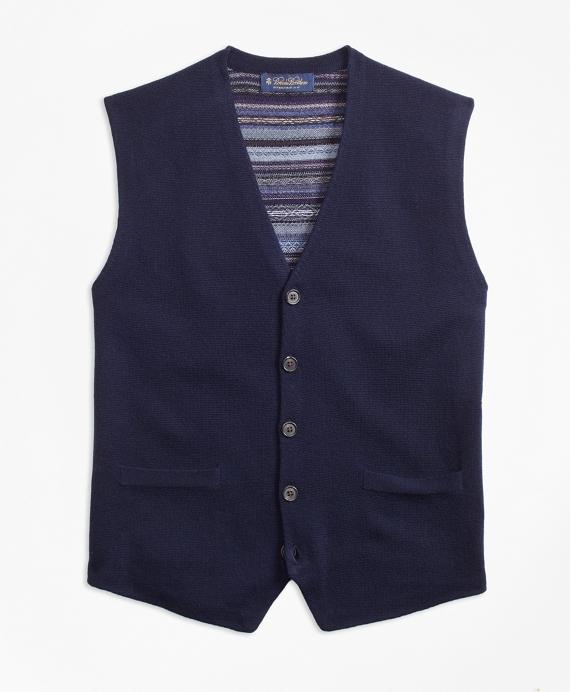 Merino Wool Fair Isle Waistcoat - Brooks Brothers