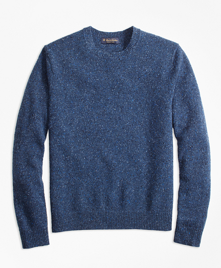 Brooks Brothers Donegal Crewneck Sweater