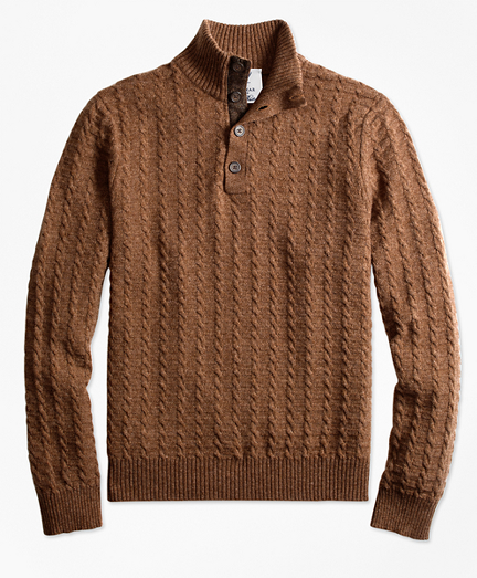Limited-Edition Braemar™ Lambswool Mockneck Sweater