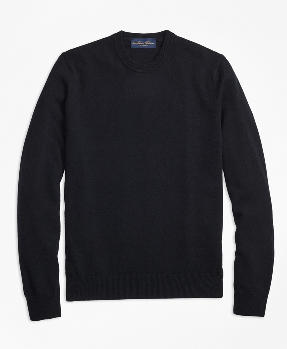 Crewneck Cashmere Sweater Black